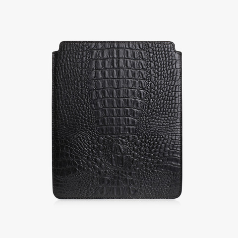 IPAD COVER - BLACK CROC