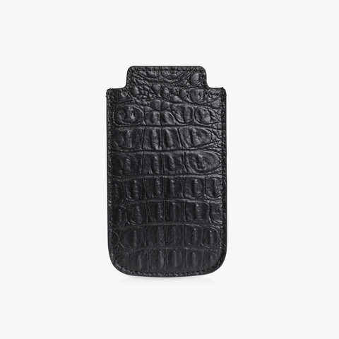 IPHONE COVER - BLACK CROC